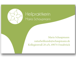 Visitenkarte – Heilpraktikerin