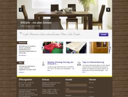 Website – Möbelhaus