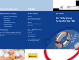 Faltblatt – Finanzen
