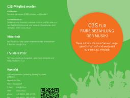 Faltblatt – C3S