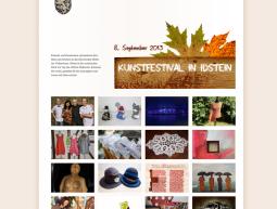 Website – Kunstfestival