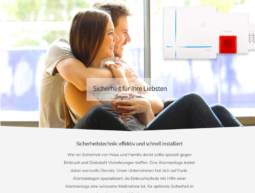Website – Alarmanlagen